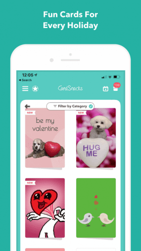 CardSnacks: ecards, greetings 2