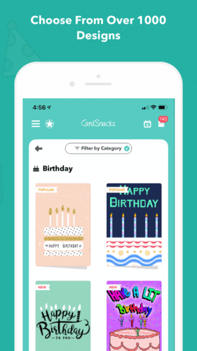 CardSnacks: ecards, greetings 6