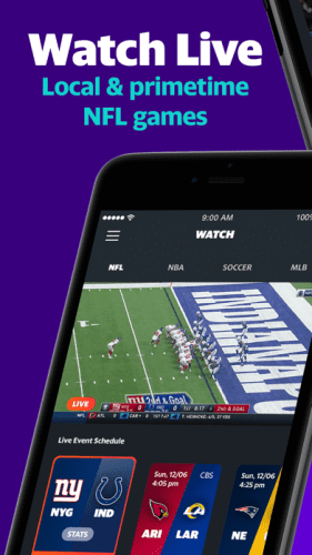 Yahoo Sports: Watch NFL games 0